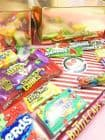 The Posh Candy Company Giant Christmas Cracker American Candy Gift.  Luxury extra large sweet candy Christmas gift.